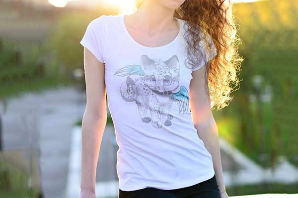 Друк фотографій на футболці, принт на кольорових та білих футболках